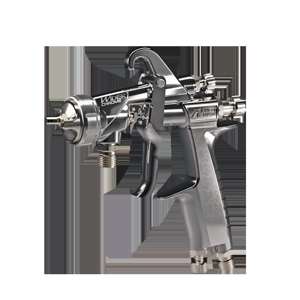 Pistol de vopsit WIDER 1 CHROME PRESSURE 1